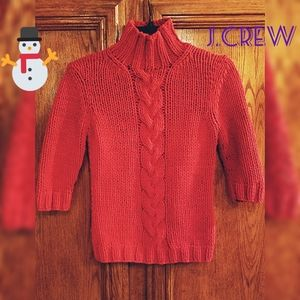 J.CREW turtleneck knitted shirt